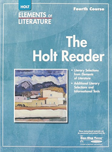 9780030790232: Elements of Literature: Reader Grade 10 Fourth Course