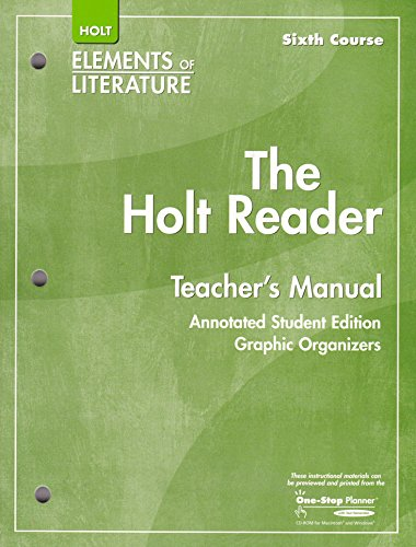 9780030790348: Holt Rdr Tchr's Manual Eolit 2007 G 12
