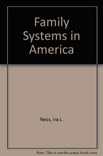 9780030790409: Family Systems in America