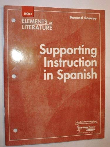 Supporting Inst/Spn Eolit 2007 G 8: Rheinhart And Winston