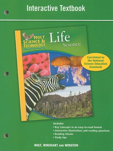 9780030790829: Holt Science & Technology: Interactive Textbook Life Science
