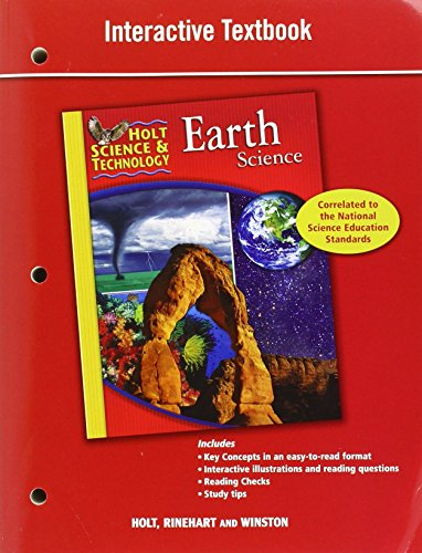 9780030790836: Holt Science & Technology: Interactive Textbook Earth Science
