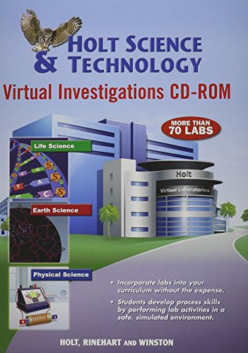 9780030790935: Holt Science & Technology: Virtual Investigations CD-ROM Generic