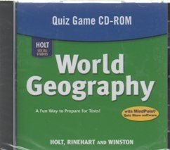 9780030790942: World Geography: Quiz Game CD-ROM