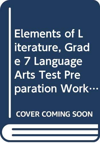 9780030791611: Elements of Literature Alabama: Language Arts Test Preparation Workbook First Course