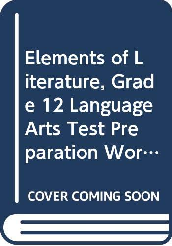 9780030791673: Elements of Literature Alabama: Language Arts Test Preparation Workbook Sixth Course