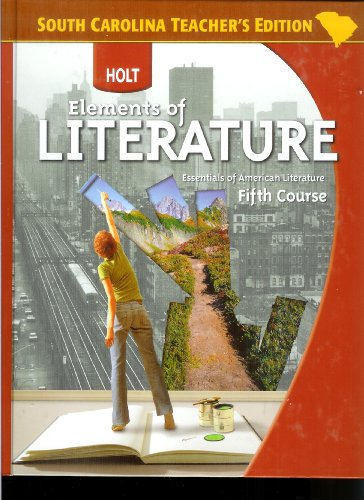 9780030792519: Essentials of American Literature Teacher's Edition (Elements of Literature, Fifth Course)