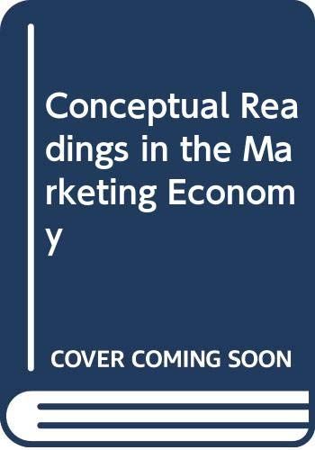 9780030793059: Conceptual readings in the marketing economy (Holt, Rinehart and Winston marketing series)