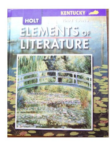 9780030793233: Elements of Literature New York: Elements of Literature Student Edition Third Course 2007