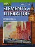 9780030793530: Elements of Literature Ohio: Elements of Literature Student Edition Sixth Course 2007