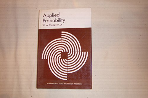 9780030795558: Applied Probability (International series in decision processes)