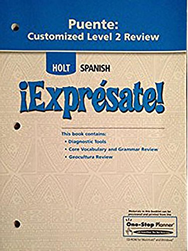 9780030796364: Holt Spansh Expresate! (PUENTE:CUSTOMIZED LEVEL 1 REVIEW)