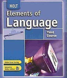 9780030796890: Annotated Teacher's Edition - Holt Elements of Language (Third Course)