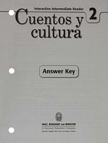 9780030797071: ¡Exprésate!: Cuentos y cultura: Interactive Reader with Answer Key Level 2