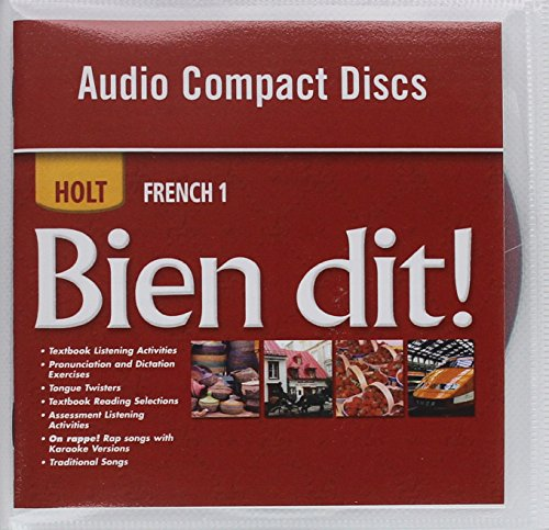 9780030797286: Bien dit!: Audio CD Program Level 1A/1B/1