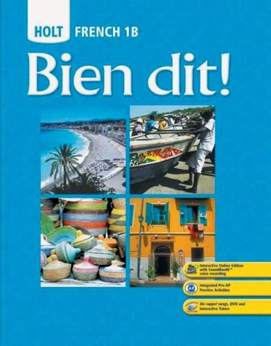 9780030797439: Bien dit!: Student Edition Level 1B 2008