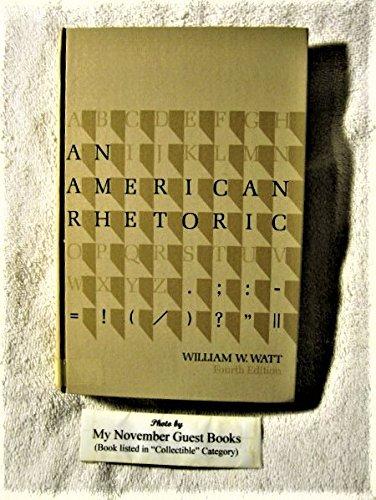 9780030797651: An American Rhetoric (Fourth Edition)