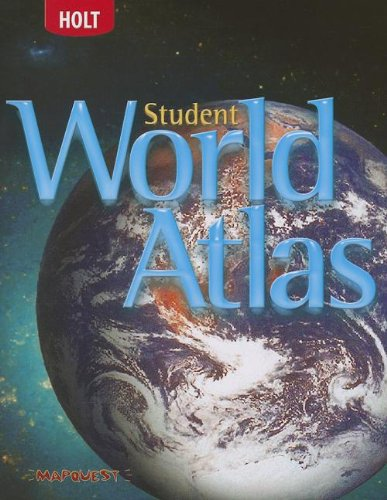 9780030797743: Holt Social Studies: Student World Atlas