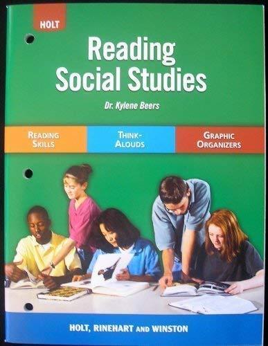 9780030797767: Holt Social Studies: Reading Social Studies
