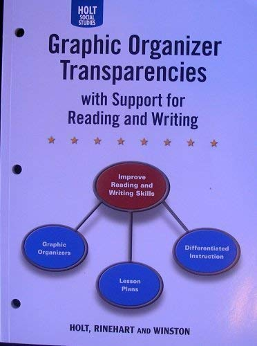 9780030797774: Holt United States History: Graphic Organizer Transparencies w/ Support for Reading & Writing