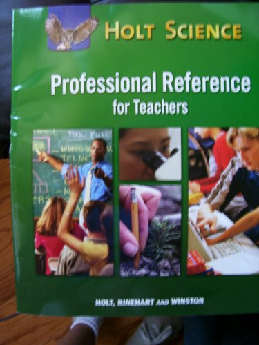 9780030798597: Professional Reference for Teachers