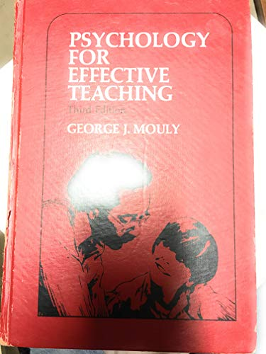 9780030802034: Psychology for Effective Teaching