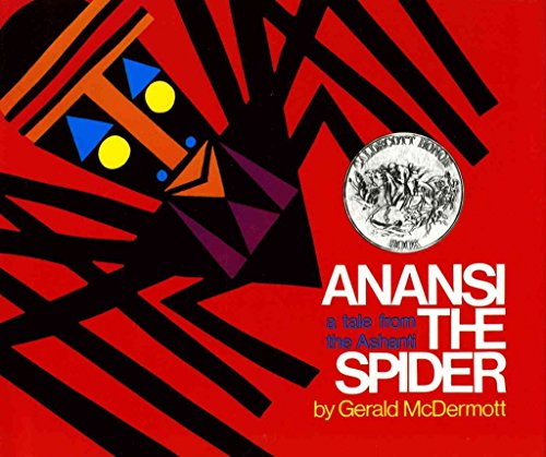 9780030802348: Anansi the Spider: A Tale from the Ashanti McDermott, Gerald ( Author ) May-15-1972 Hardcover