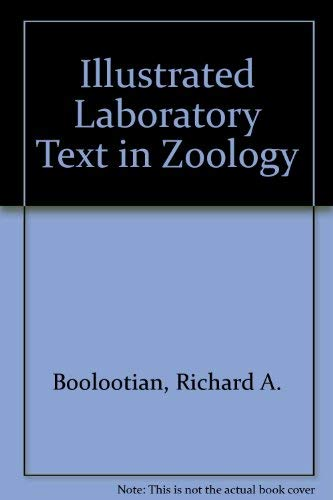9780030802423: Illustrated Laboratory Text in Zoology
