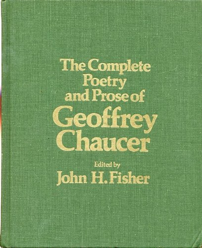 9780030802737: The Complete Poetry and Prose of Geoffrey Chaucer