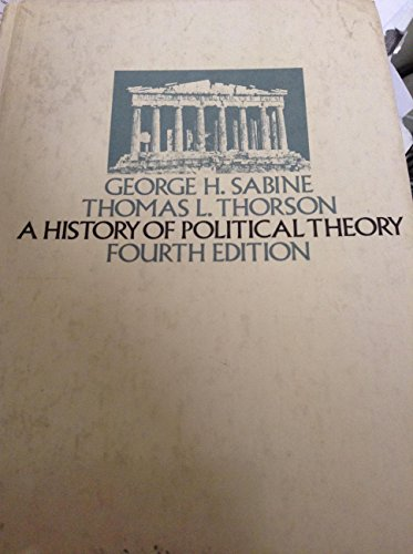 9780030803055: A History of Political Theory