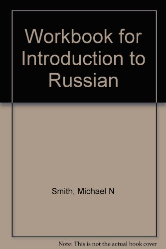 9780030803437: Workbook for Introduction to Russian