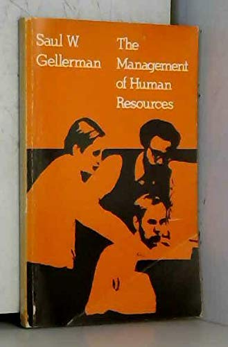9780030804854: The management of human resources