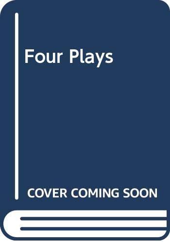 9780030808050: Four Plays (Rinehart editions)