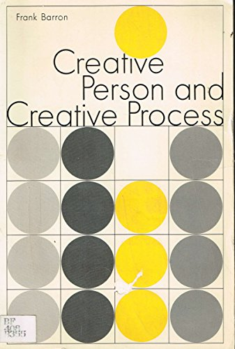 9780030809712: Creative Person and Creative Process