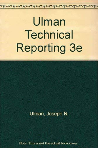 9780030810039: Technical Reporting