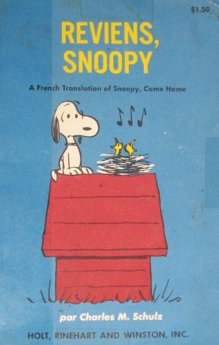 9780030810480: Reviens Snoopy (French Edition)