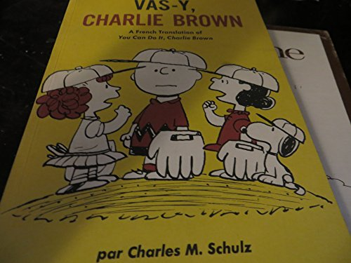 9780030810497: Vas-y, Charlie Brown (You Can Do It, Charlie Brown in French)