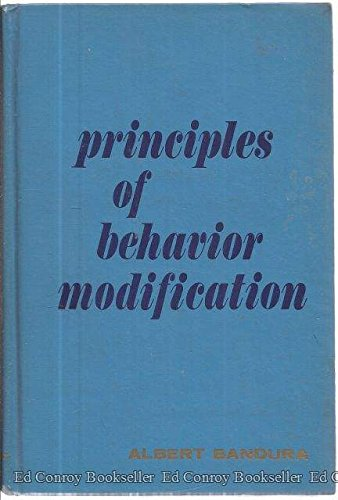 Principles of Behavior Modification: Bandura, Albert