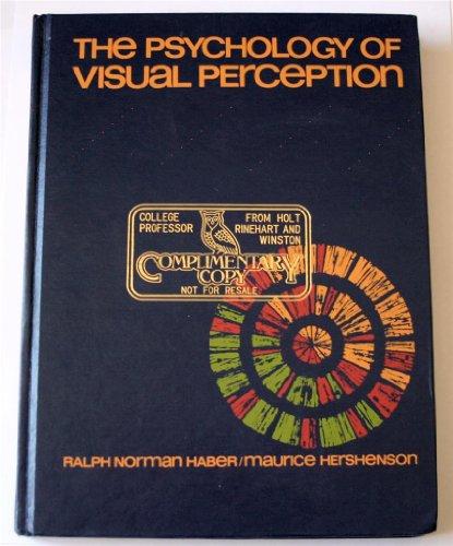 9780030814136: Psychology of Visual Perception