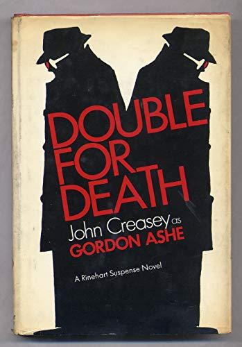 9780030818370: Double for death, (A Rinehart suspense novel)