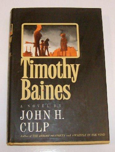 9780030818431: Timothy Baines;: A novel,
