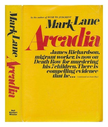 9780030818547: Arcadia
