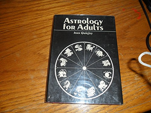 9780030818608: Astrology for Adults.