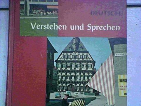 9780030827518: Verstehen und Sprechen (English and German Edition)