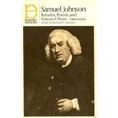 Rasselas, Poems and Selected Prose (Rinehart editions,: Samuel Johnson