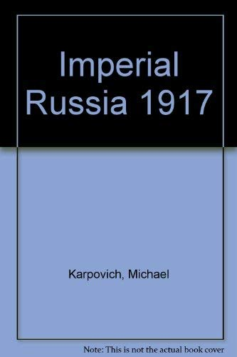 Imperial Russia 1801-1917