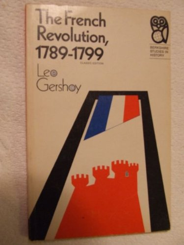 9780030828324: The French Revolution, 1789-1799,