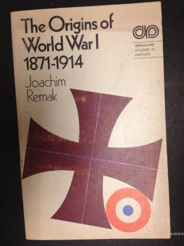 9780030828393: Origins of World War I 1871-1914 (Berkshire Studies in History)