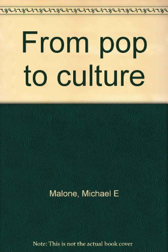 9780030830013: From pop to culture