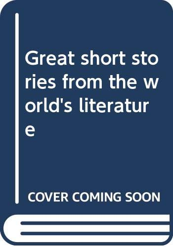9780030830518: Great short stories from the world's literature